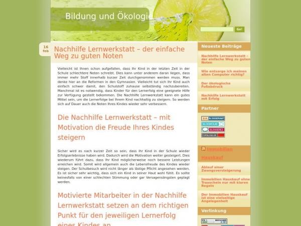 bildung-oekologie.de